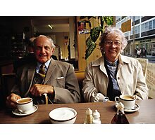 Time for a cuppa, UK, 1980s Photographic Print