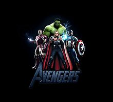 Avengers iPhone Case by CAsylum