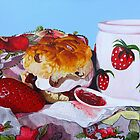 Strawberry Fare by Paula Oakley