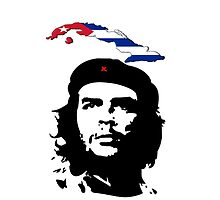 Che with Cuban flag by daalder