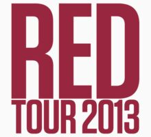 Red Tour 2013 Sticker by mikex4