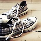Plaid Sneakers by AbigailJoy