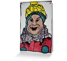 Winterportrait 4 Greeting Card