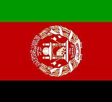 Afghanistan Flag by pjwuebker