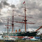 HMS WARRIOR by Karl Willson