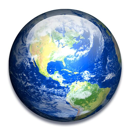 Earth PNG File by haresh1983