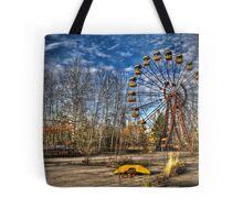 Prypiat/Chernobyl Abandoned Ferris Wheel Tote Bag