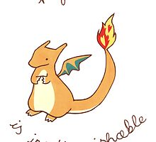 Charizard Card by Stephanie Hodges