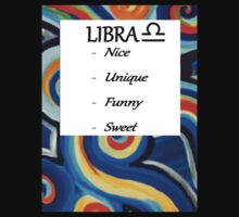 Abstract Libra Horoscope shirt by K3LLIE3