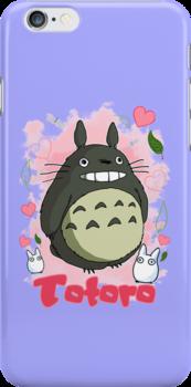 I Love Totoro by MissCake