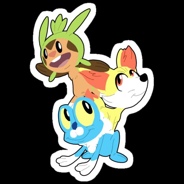 Gen VI Pokemon Starters by Macaluso