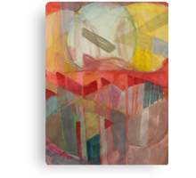 geo circle Canvas Print
