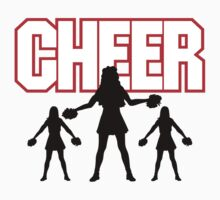 "Cheerleader ""CHEER"" Kids Clothes"