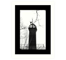 Nikola Tesla's Wardenclyffe Laboratory Building Tower - Shoreham, New York Art Print
