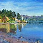 Akaroa Light by Dai Wynn