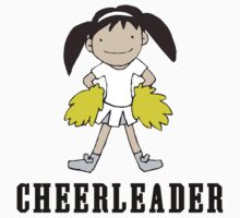 Cute Cheerleader by SportsT-Shirts