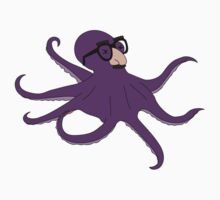 Purple Disguise Octopus Kids Clothes