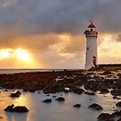 Port Fairy Lighthouse, Victoria, Australia by Michael Boniwell