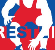 Keep Wrestling Sticker