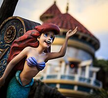 Ariel ~ The Little Mermaid by Brett Kiger