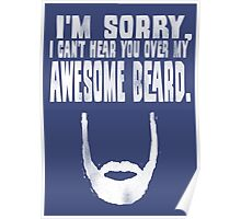 Awesome Beard Poster
