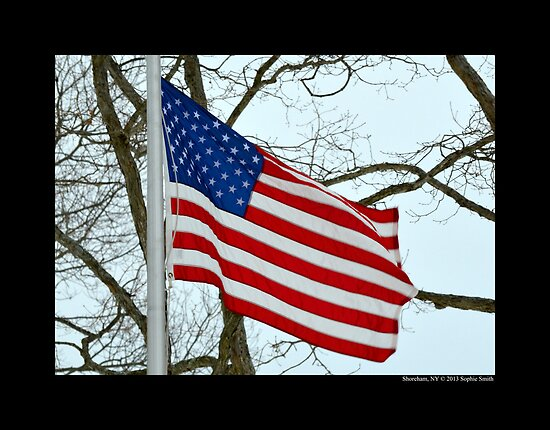 Flag Of The United States Of America  by © Sophie W. Smith