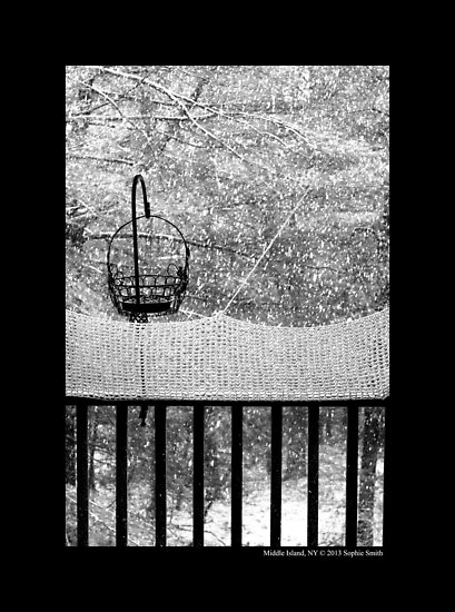 The Balcony View  by © Sophie W. Smith