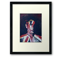 The Soldier Framed Print