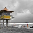 Lifeguard tower by ashercobb