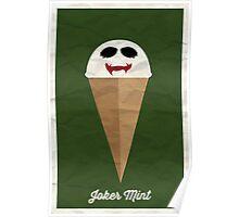 Joker Mint Poster