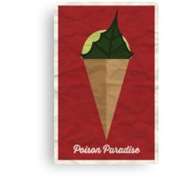 Poison Paradise Canvas Print