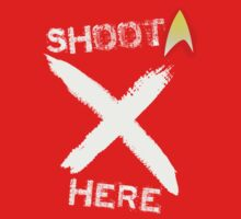 Redshirt (SHOOT HERE version) by Max Heron