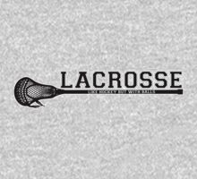 Lacrosse = hockey with balls Kids Clothes