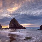Sunset at Cannon Beach, OR by Andrey Popov