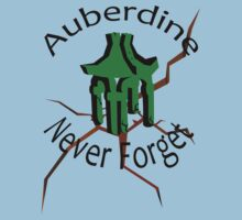 Auberdine: never forget (alt) Kids Clothes