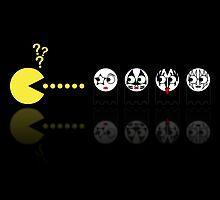 Pacman Kiss by NicoWriter