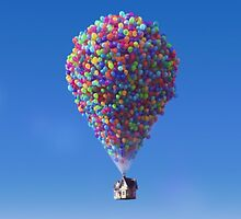 Up Balloon House  by gleviosa