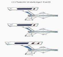 U S S Thunderchild rebuild stage I  II and III by Radwulf