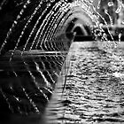 Water Tunnel. by Nick Egglington