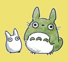 Totoro & Company by MissCake
