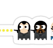 Pacman Pulp Fiction Sticker