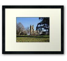 Canons Ashby Church Framed Print