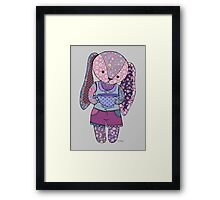 Have a cup of tea with me? Framed Print