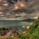 Lynmouth bay by Dean Messenger