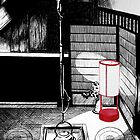 Teahouse interior, Kanazawa by Sundayink