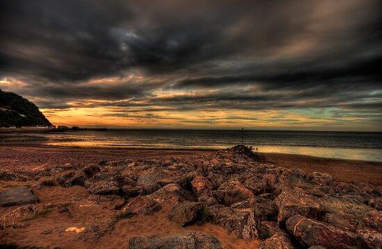 Minehead Beach by Dean Messenger