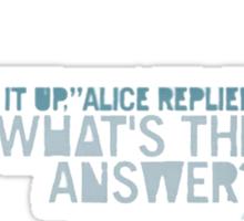 Far Cry 3 - Alice in Wonderland. Sticker