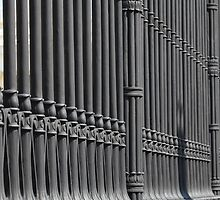 old cast iron fence  by mrivserg