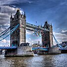 Tower Bridge and rings by Dean Messenger