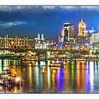 Cincinnati NIght Life by Randy & Kay Branham